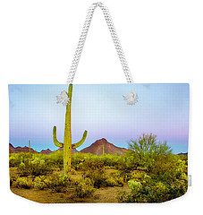Desert Beauty Weekender Tote Bag by Barbara Manis