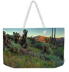 Desert Dusk Weekender Tote Bag by Sue Cullumber