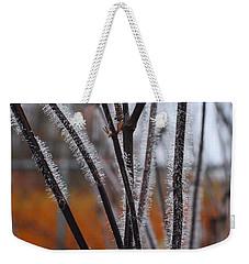 Dewdrops Weekender Tote Bag by Kathryn Meyer