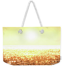 Rose Gold Diamonds Weekender Tote Bag