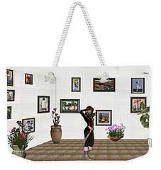 digital exhibition _ Sculpture 1 of girl  Weekender Tote Bag
