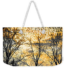 Weekender Tote Bag featuring the photograph Distant Memories by Jan Amiss Photography