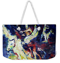 Divine Madness Weekender Tote Bag by John Jr Gholson