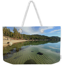 Weekender Tote Bag featuring the photograph Do You Speak The Language Of Sands by Sean Sarsfield