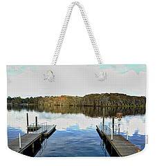 Dock Of The Bay Weekender Tote Bag