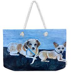 Dogs Resting Weekender Tote Bag