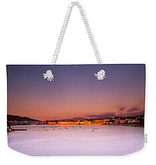 Weekender Tote Bag featuring the photograph Donostia San Sebastian  by Mariusz Czajkowski