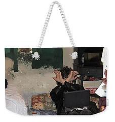 Don't Look At Me Weekender Tote Bag