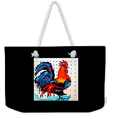 Doodle Do Rooster Weekender Tote Bag