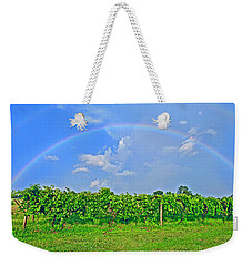 Double Rainbow Vineyard, Smith Mountain Lake Weekender Tote Bag