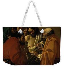 Doubting Thomas Weekender Tote Bag
