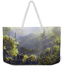 Down By The River Weekender Tote Bag