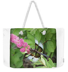 Weekender Tote Bag featuring the photograph Draggin The Line by Marie Neder