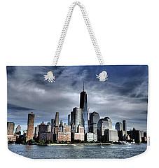Dramatic New York City Weekender Tote Bag