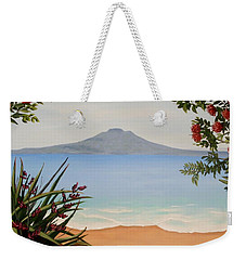 Dreaming Of Rangitoto Weekender Tote Bag
