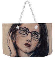 Dreaming With Open Eyes Weekender Tote Bag by Olimpia - Hinamatsuri Barbu