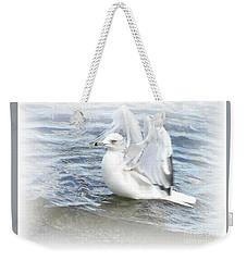 Dreamy Seagull Weekender Tote Bag by Susan Dimitrakopoulos