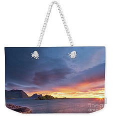 Dreamy Sunset Weekender Tote Bag by Maciej Markiewicz