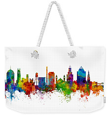Durham North Carolina Skyline Weekender Tote Bag