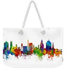 Durham North Carolina Skyline Weekender Tote Bag