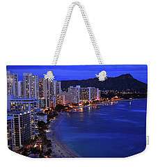 Dusk On Waikiki Weekender Tote Bag