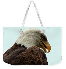 Eagle Weekender Tote Bag by Suhas Tavkar