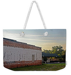 Weekender Tote Bag featuring the photograph Early Morning by Linda Brown