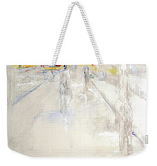 Early Winter In Manhattan Weekender Tote Bag