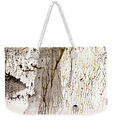 Weekender Tote Bag featuring the painting Earth Mother by Nancy Kane Chapman