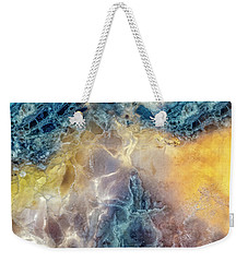 Earth Portrait Weekender Tote Bag