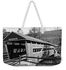 East And West Paden Twin Bridge Weekender Tote Bag