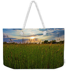East Moriches Sunset Weekender Tote Bag