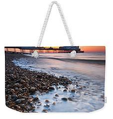 Eastbourne Sunrise Weekender Tote Bag