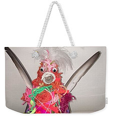 Funky Chicken Weekender Tote Bag
