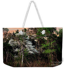 Easter Dogwood Weekender Tote Bag by Tamyra Ayles