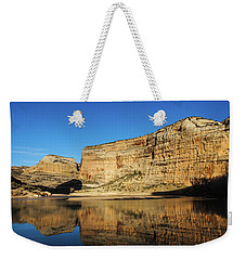 Weekender Tote Bag featuring the photograph Echo Park In Dinosaur National Monument by Nadja Rider