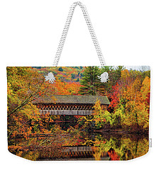 Edna Dean Proctor Bridge Weekender Tote Bag