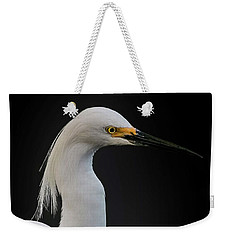Egret Weekender Tote Bag by Cyndy Doty