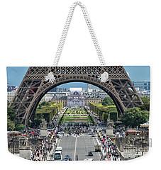 Eiffel Tower Paris Weekender Tote Bag
