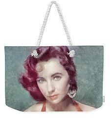 Elizabeth Taylor By John Springfield Weekender Tote Bag