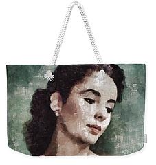 Elizabeth Taylor By Mary Bassett Weekender Tote Bag