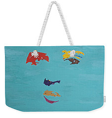 Elvis In The Sky Weekender Tote Bag