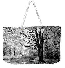 Empty Bench Weekender Tote Bag