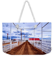 Empty Corrals Weekender Tote Bag by L O C