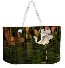 En Pointe Weekender Tote Bag by Cyndy Doty