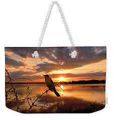 Enjoying The Sunset Weekender Tote Bag