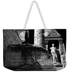 Ephesus Library Of Celsus Weekender Tote Bag