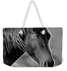 Weekender Tote Bag featuring the photograph Equine  by Steve McKinzie