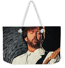Eric Clapton Weekender Tote Bag by Taylan Apukovska