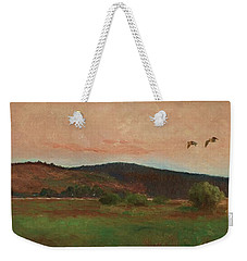 Eurasian Woodcocks Weekender Tote Bag